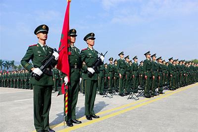 国旗护卫队建设