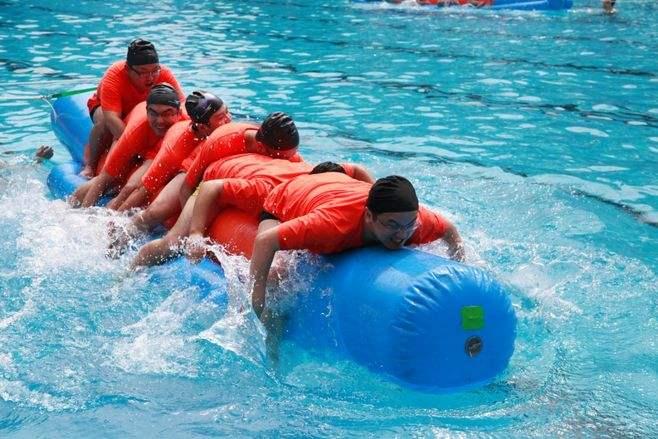 冰凉一夏——水上趣味运动会拓展方案