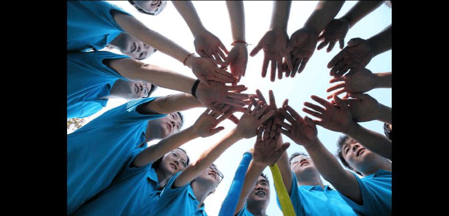参加天津军事拓展帮助新员工快速融入新环境